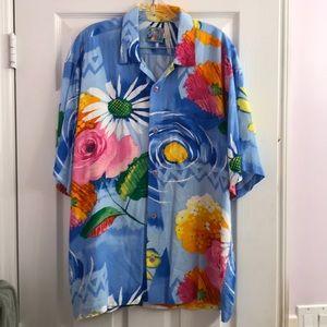 Jams World Hawaiian Shirt 100% Authentic L
